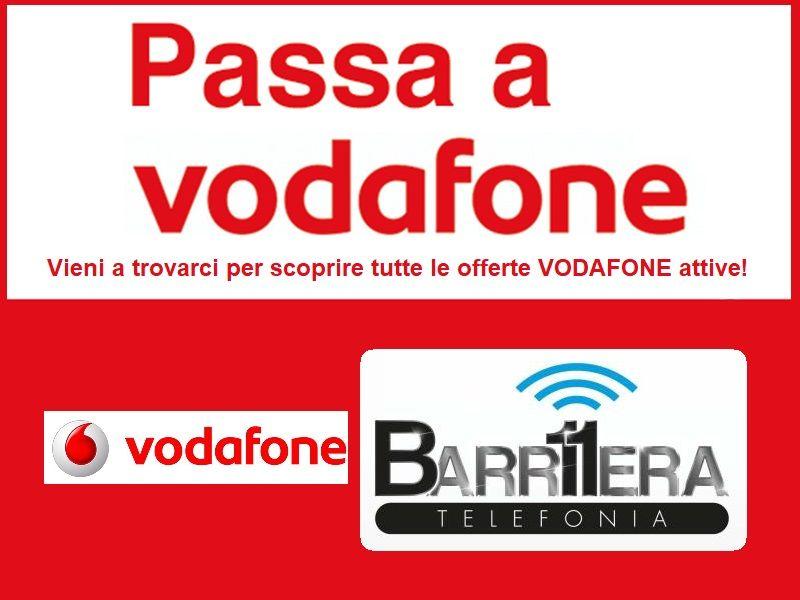 TELEFONIA BARRIERA11 offerte speciali passa a WODAFONE - promozioni operator attack  TRIESTE