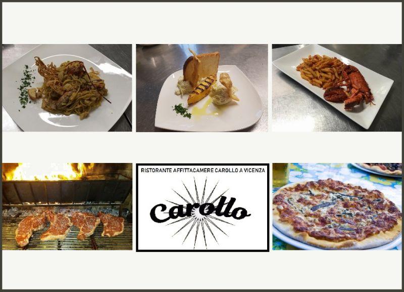 Carollo Ristorante Affittacamere Vicenza - Offerta pranzo cena gastronomia Vicenza pesce fresco