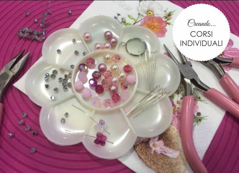 offerta corsi individuali creazione bigiotteria-promozione corsi di creazione collane orecchini