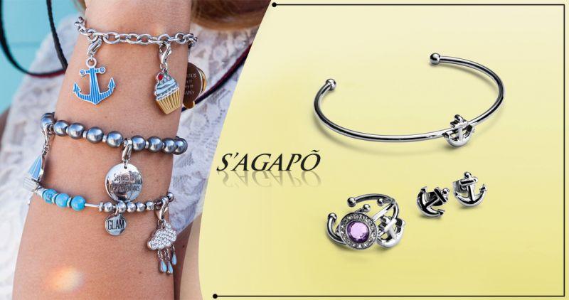 Offerta vendita gioielli Sagapo' linea Nautika a Salerno - Linda Gioielli