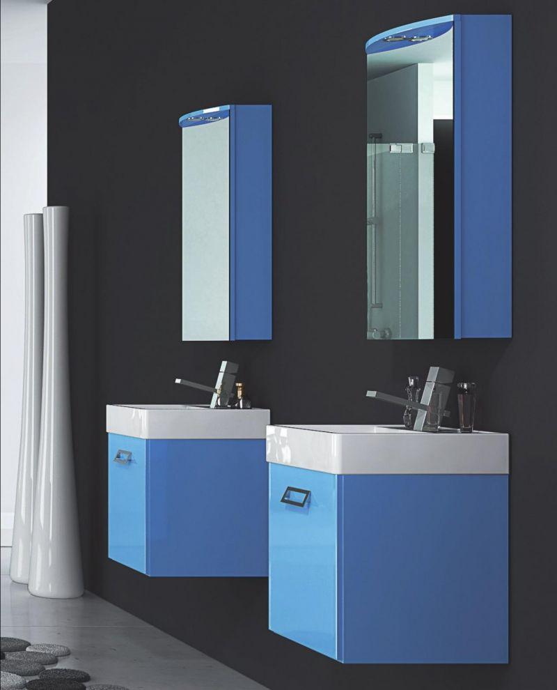 Offerta - Mobile bagno sospeso con specchio a Lecce - SiHappy