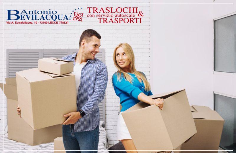 Offerta servizio Copertura Assicurativa traslochi - Promozione servizi assicurativi traslochi