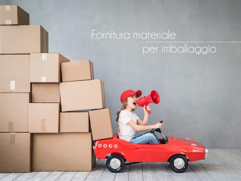 Offerta Servizio di Fornitura per Imballaggio - Promozione Servizio Sgombero Vario Arredo
