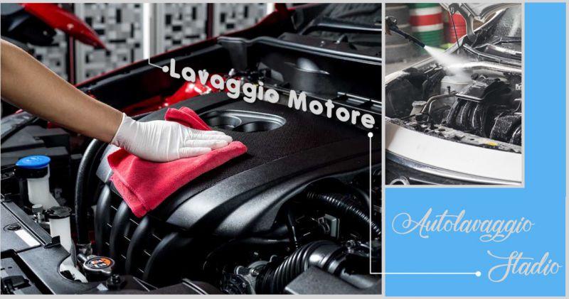 Offerta servizio pulizia motore auto Lecce - Promozione pulizia motore interno auto Lecce