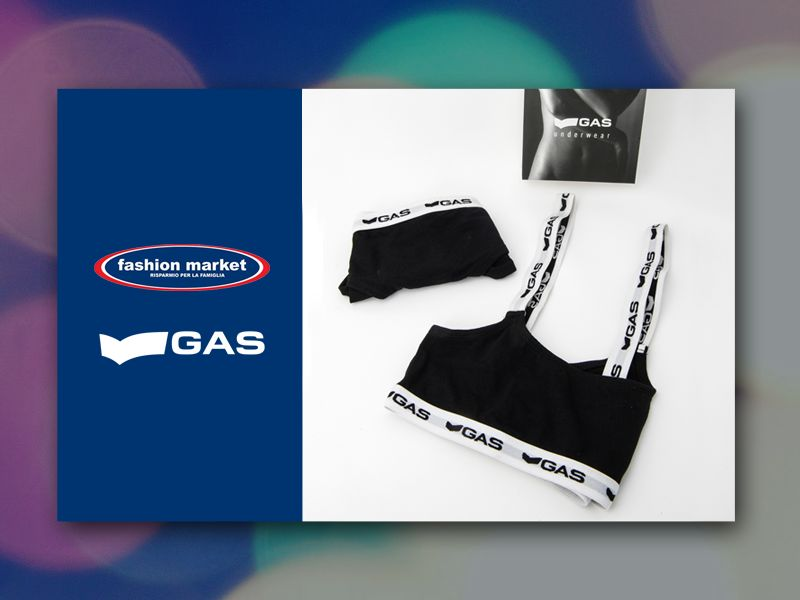 offerta intimo donna gas - occasione top sportivo gas - fashion market