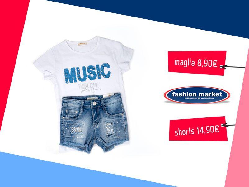 offerta abbigliamento da bambina - occasione vestiti bimba collezione bambina Fashion Market