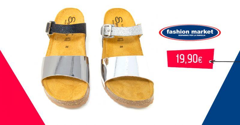 offerta Fashion Market sandalo dasso donna - occasione calzature estive donna sandalo gioiello