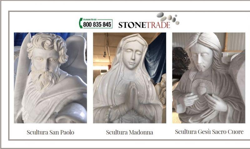 Stone Trade offerta vendita sculture granito - Occasione produzione sculture marmo made Italy