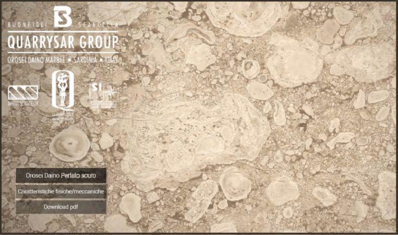 Occasione vendita marmo Dyno reale - Offerta estrazione e lavorazione marmo Daino reale Italy