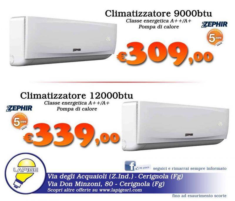 Climatizzatori Zephir PROMO ESTIVA