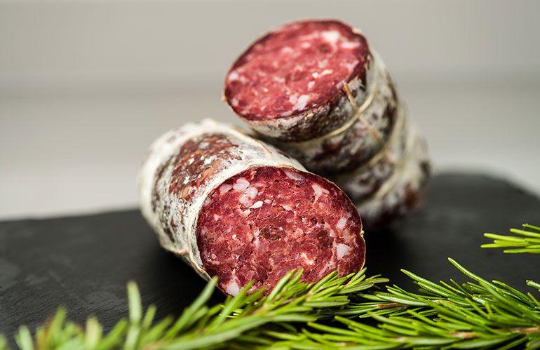 offerta vendita salame equino salamella di cavallo - occasione soppressa di carne equina padova