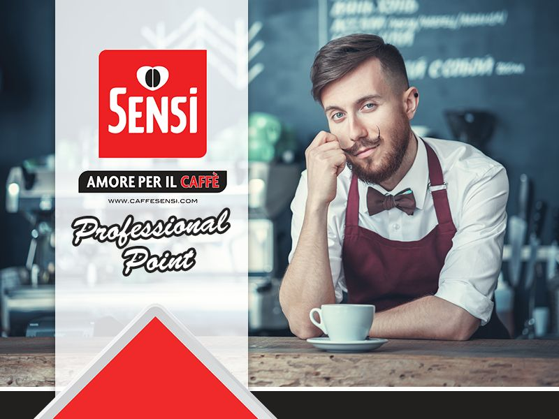 Caffe' Sensi - Offerta Professional Point - Promozione Ricerca Professional Point