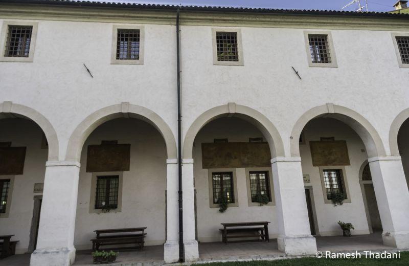 Offerta Hotel La Corte vacanze Padova albergo storico -Offerta dormire monastero Piove di Sacco