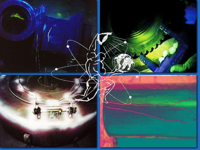 esami non distruttivi Magnetoscopia - controlli qualità esami Liquidi penetranti