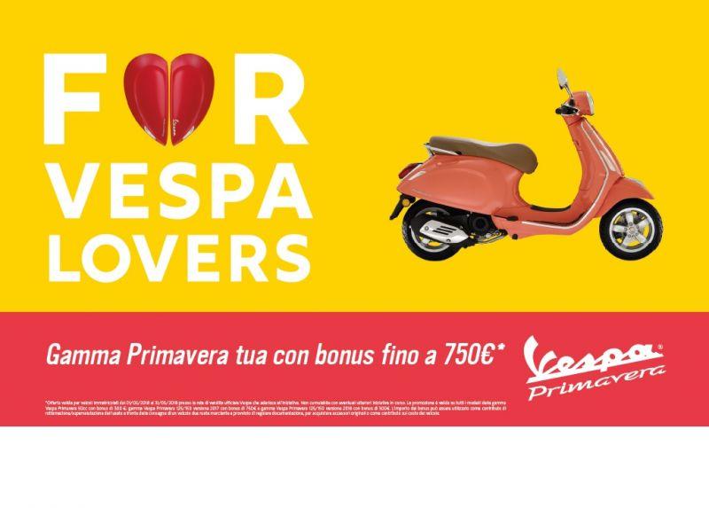 PROMO VESPA PRIMAVERA TUA CON BONUS FINO A 750?!