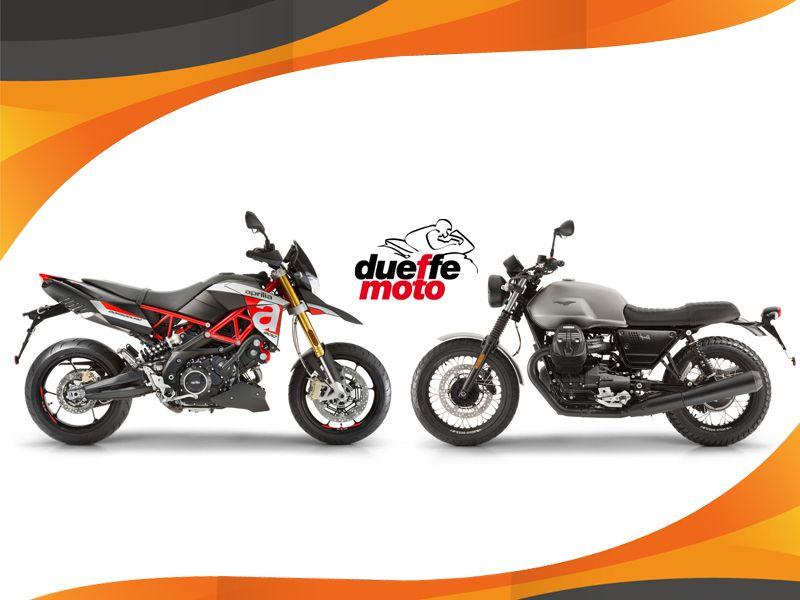 Offerta vendita e distribuzione moto Guzzi e Aprilia - Due Effe Moto