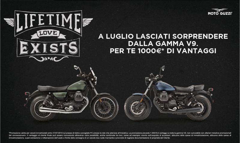 Moto Guzzi V9 con 1000? di vantaggi!