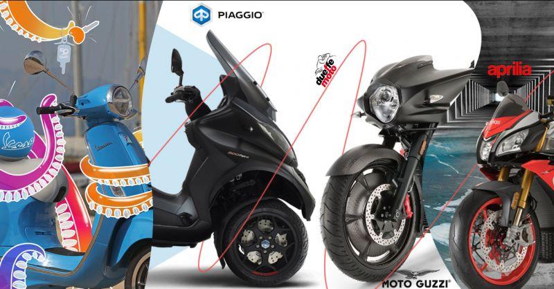 Offerta vendita moto e accessori multi  marca Piaggio Aprilia a Lecce - Due Effe Moto
