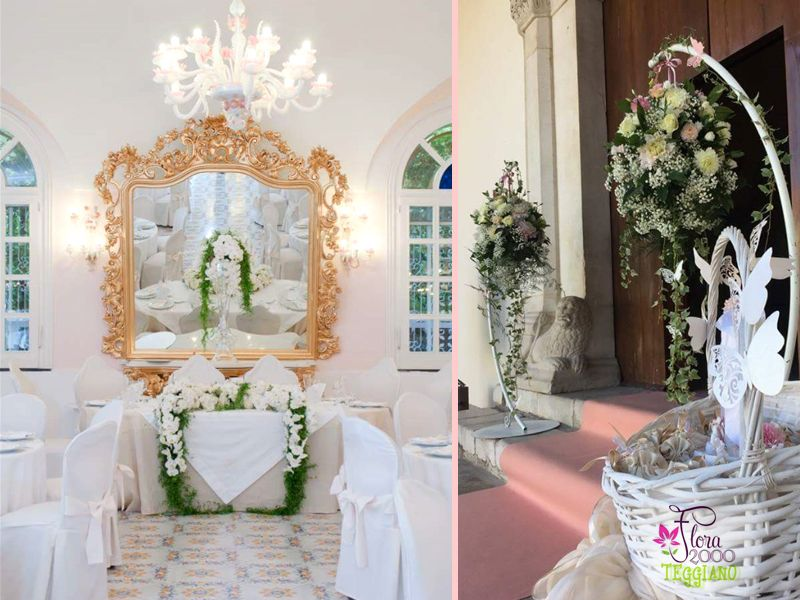 Offerta realizzazione allestimenti floreali - Promozione allestimenti ambienti interni esterni