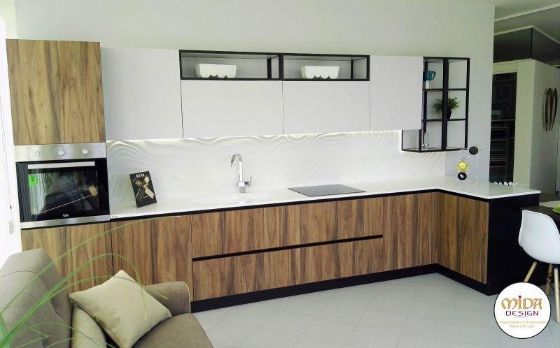 offerta Home cucine modello genesi bari-promozione cucina elettrodomestici beko piano ilexa