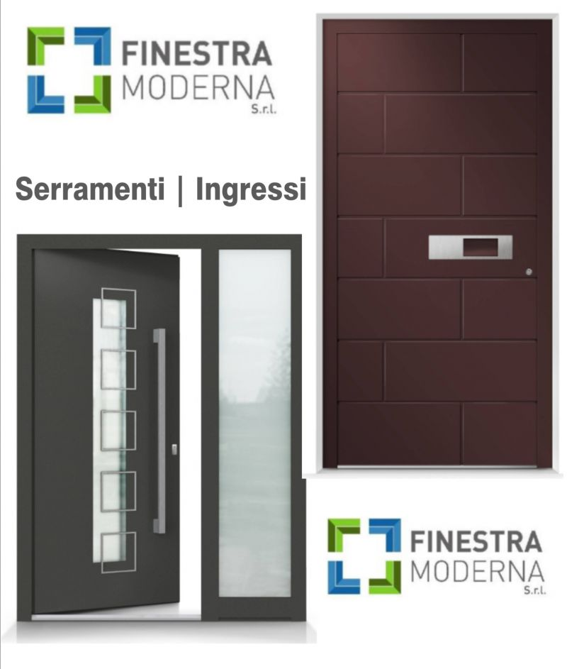 Offerta serramenti in PVC, serramenti legno e alluminio - Occasione serramenti ingressi