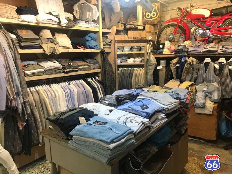 Offerta vendita abbigliamento maschile collezione primavera estate - Route 66