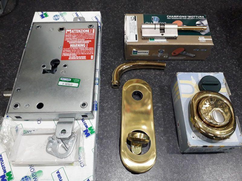 Offerta conversione serratura doppia mappa a cilindro Europeo Deruta - Effeppi Service