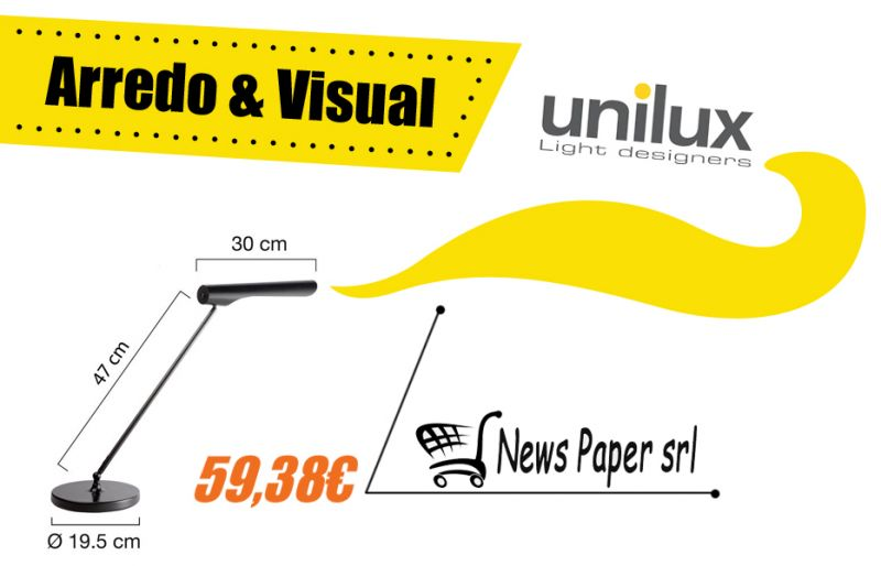Offerta vendita lampada stile moderno Urban Led - Promozione distribuzione lampade Urban Led