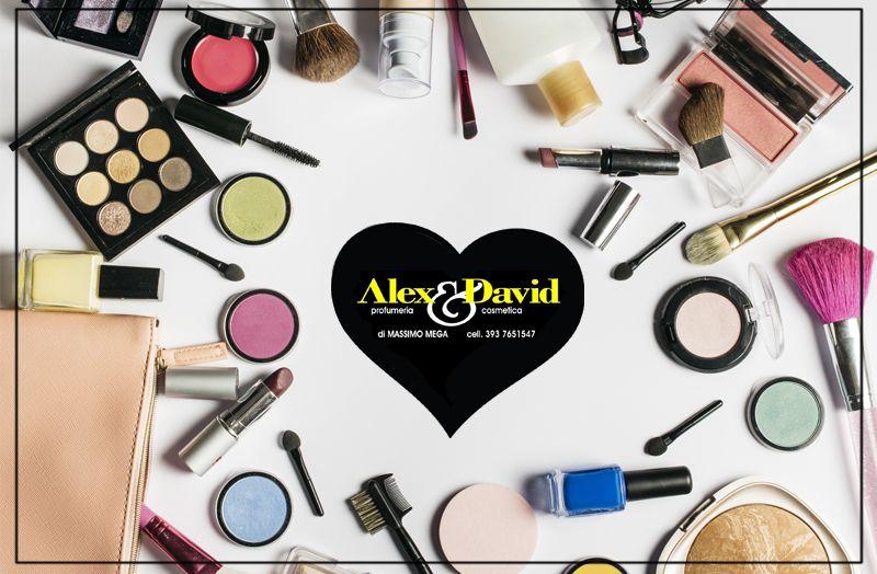 Offerta vendita e distribuzione prodotti cosmetici prezzi bassi a Lecce - Alex & David