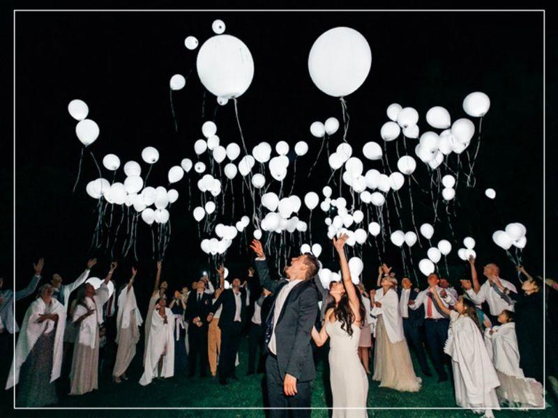 Offerta  vendita palloncini a led per matrimoni - Promozione led ballons for wedding a Brindisi
