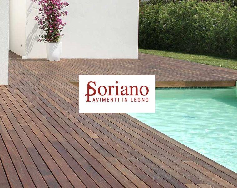 offerta parquet per bordi piscina-promozione pavimenti in legno per piscine WPC soriano