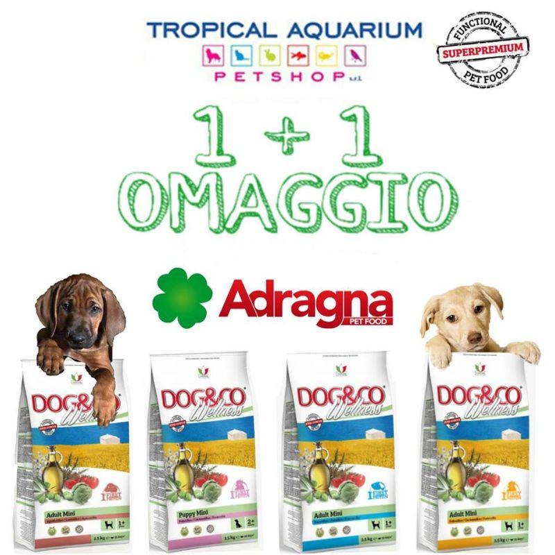 Promozione mangime per cani 1+1 sacco OMAGGIO da Tropical Aquarium Petshop