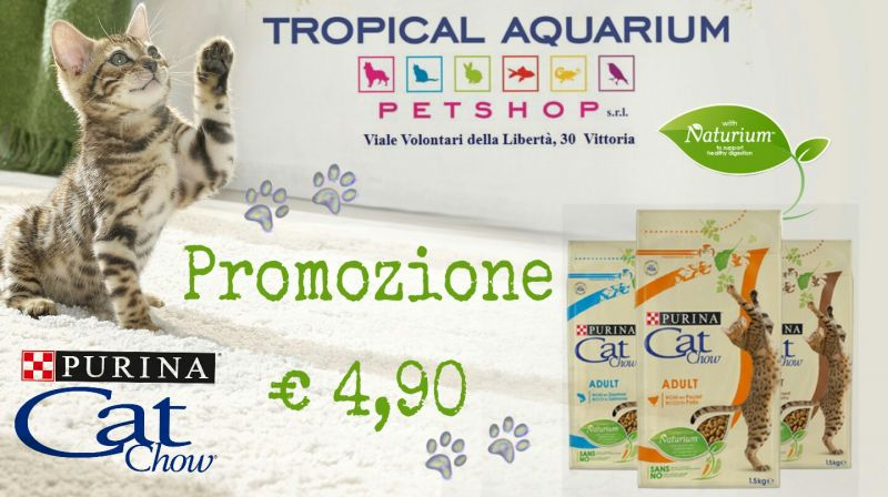 Promozione Purina Cat Chow da Tropical Aquarium Petshop
