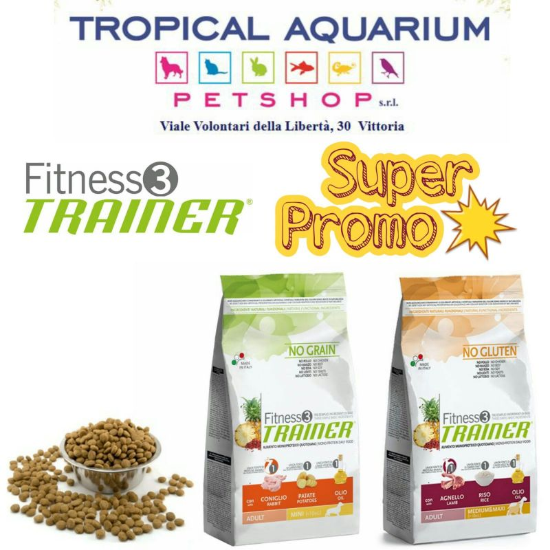 Fitness Trainer Adult in Promozione da Tropical Aquarium Petshop