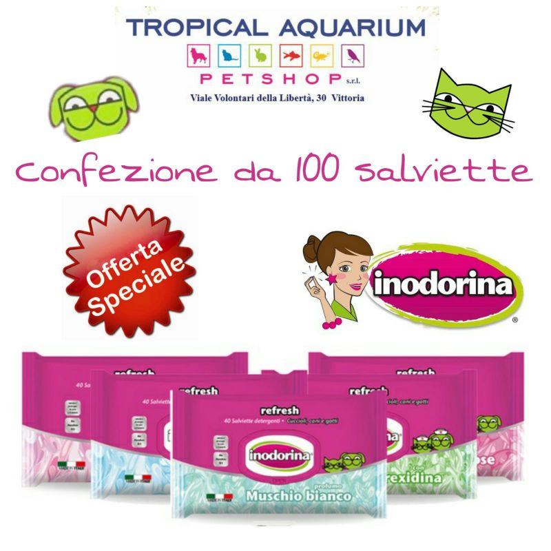 PROMOZIONE Salviette Inodorina da Tropical Aquarium Petshop Vittoria