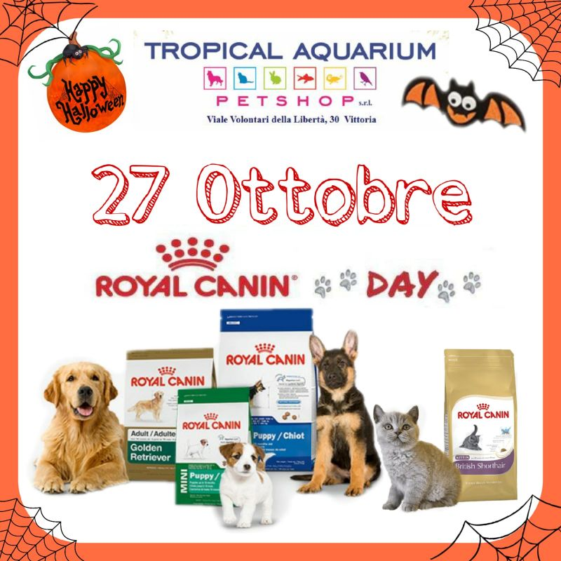 Royal Canin Day da TROPICAL AQUARIUM