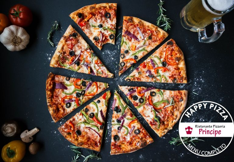 offerta sconto ristorante pizza e bibita-promozione pizzeria menu completo