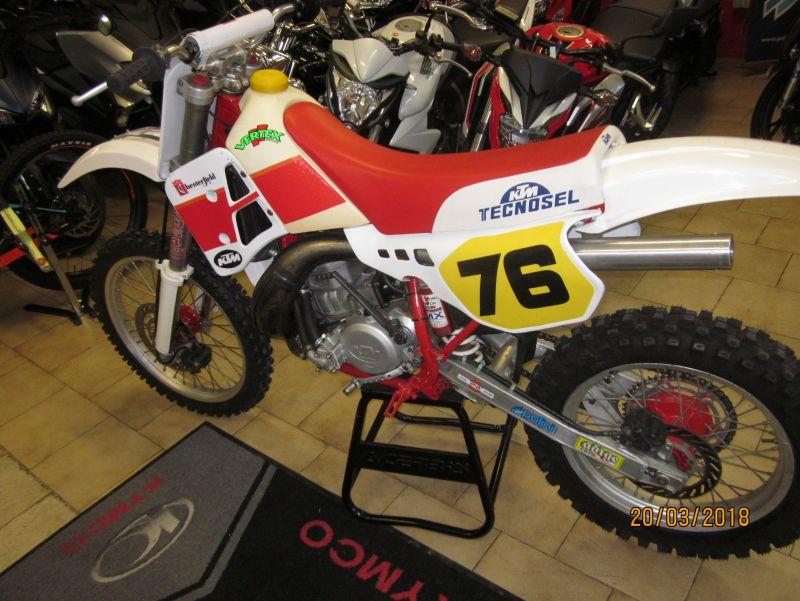 offerta ktm 350 mx 1989 usato-promozione ktm 350 mx 1989 moto da gare d epoca