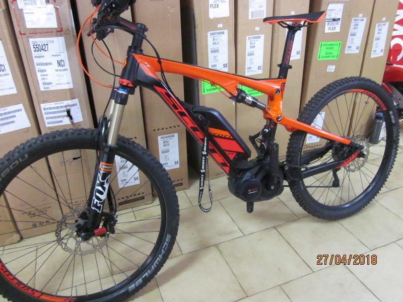 offerta E Bike scott spark 710-promozione bici elettrica scott usata