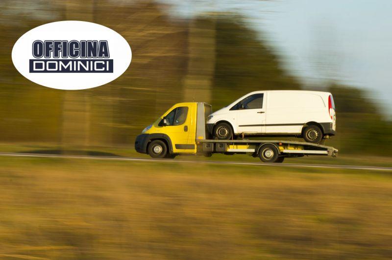 Officina Dominici - promozione soccorso stradale 24 H - offerta assistenza stradale 24 H