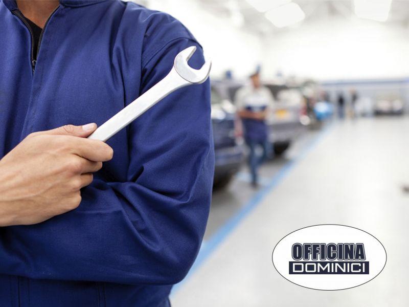 Officina Dominici - Promozione tagliando auto - occasione check-up auto