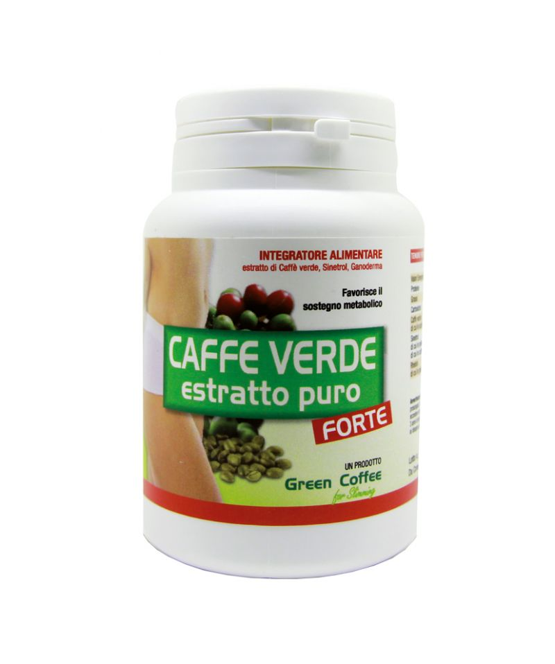 dimagrire con caffè verde,Effetto potenziato con caffe verde titolato al 50% in acido clorogeni