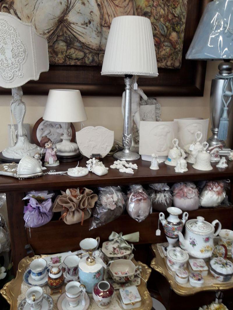 offerta lampade d'arredo oggettistica casa - occasione vendita set di piatti in stile vicenza