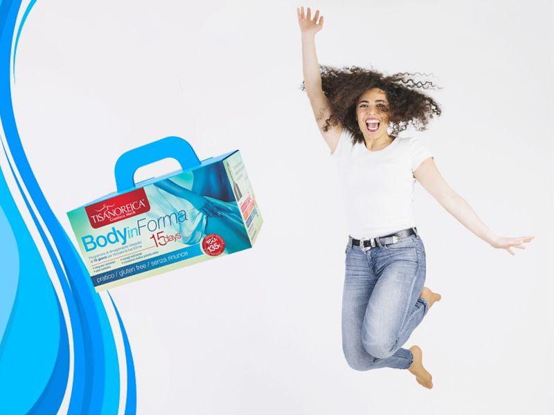 Offerta vendita cofanetto Body Informa Tisanoreica - Promozione vendita prodotti dimagrimento
