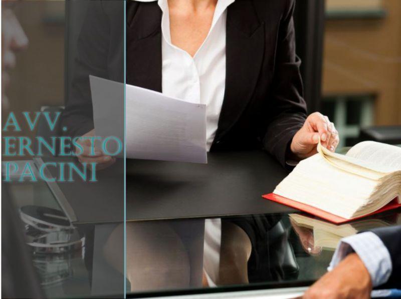 AVVOCATO ERNESTO PACINI - OFFERTA CONSULENZA LEGALE COLPA E RESPONSABILITA MEDICA