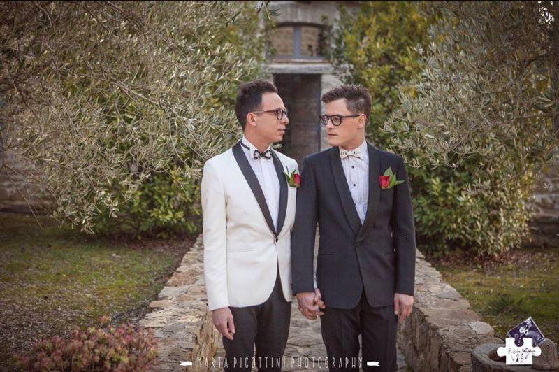 Offerta organizzazione unioni civili Castiglione del Lago - wedding gay - Puzzle Wedding