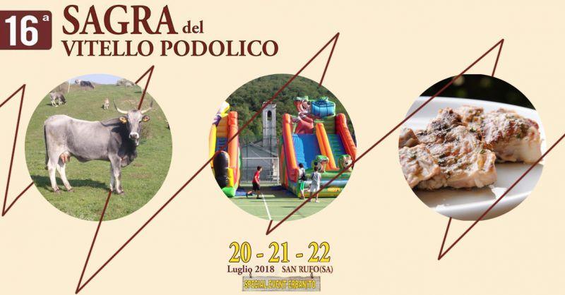 Offerta Eventi a San Rufo sagra del vitello podolico in agriturismo - Agriturismo Erbanito