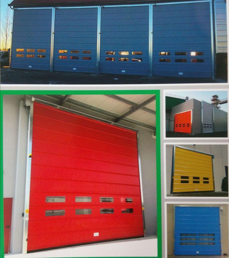 realizzazione porte e portoni industriali padova - offerta porte ad impacchettamento padova