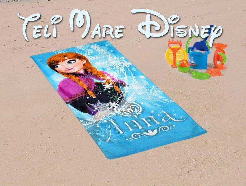 Offerta vendita teli mare personaggi Disney - Promozione distribuzione teli mare disney bambini