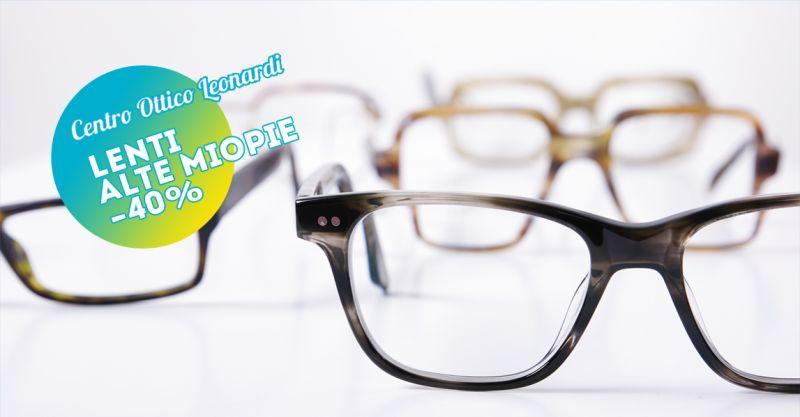 offerta lenti monofocali alte miopie - promozione lenti monofocali alto indice